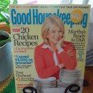 Good Housekeeping September 2007 Martha Stewart Back Issue Magazine location50