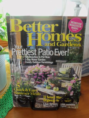 BETTER HOMES AND GARDENS June 2007 Back Issue Decorating Home Magazine location50