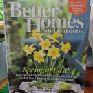BETTER HOMES AND GARDENS April 2008 Back Issue Decorating Home Magazine location50