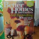 BETTER HOMES AND GARDENS October 2007 Back Issue Decorating Home Magazine location50
