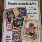 Keeping Memories Alive Cottage Collection Memory Page Ideas Book 1 location44