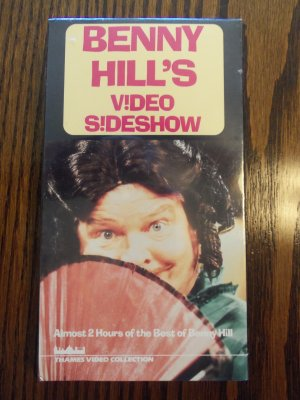 Benny Hill's Video Sideshow 2 Hours of The Best of Benny Hill Comedy VHS LocationO1