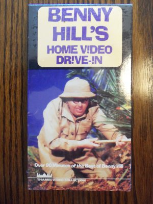 Benny Hill's Home Video Drive In 90 Minutes of The Best of Benny Hill Comedy VHS LocationO1