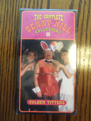 The Complete Benny Hill Collection Golden Titters Comedy VHS LocationO1