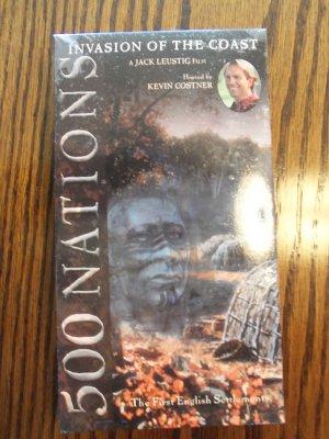 500 Nations Invasion of the Coast History Drama VHS LocationO1