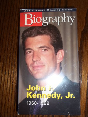 A & E Biography John F. Kennedy, Jr. Documentary VHS LocationO1