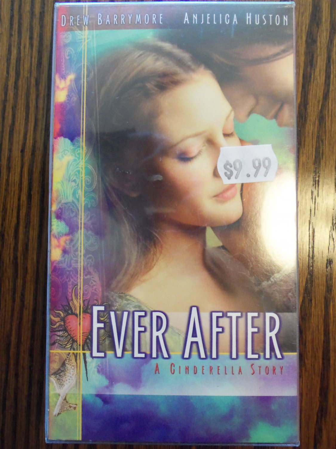 Ever After A Cinderella Story Drew Barrymore Family VHS ...