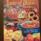2002 Taste of Home Annual Recipes Cookbook Hardcover locationO2