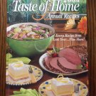 2003 Taste of Home Annual Recipes Cookbook Hardcover locationO2