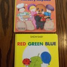 Show Baby Red Green Blue Brimax Board Book 1 - 3 Years Toddler Childrens locationO3