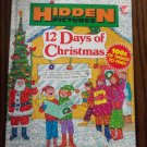 Hidden Pictures 12 Days of Christmas Anthony Tallarico locationO6