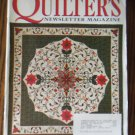 Quilter's Newsletter Magazine December 2000 No. 328 Back Issue locationM10