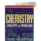 A Self Teaching Guide Chemisty Concepts & Problems 2nd Edition Houk Post Textbook locationA1
