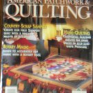 American Patchwork & Quilting February 1994 Vol. 2 No. 5 Issue 6 Back Issue locationM10