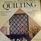 American Patchwork & Quilting April 1993 Issue No. 1 Back Issue locationM10