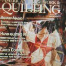 American Patchwork & Quilting December 1993 Issue 5 Back Issue loc14