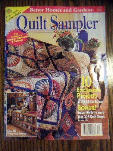 Better Homes Gardens Quilt Sampler 1998 Back Issue Loc14