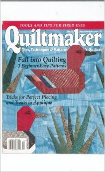Quiltmaker Magazine September October 1997 No 57 Back Issue location32