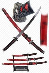 KATANA SUPER SET w/STAND - Free Shipping