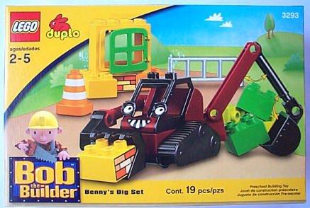 Lego duplo BOB THE BUILDER Benny's Dig Set  3293 - NEW