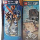 Lego Knights Kingdom KING MATHIAS limited bonus 8809 legos NEW