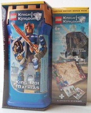 Lego Knights Kingdom KING MATHIAS limited bonus 8809 legos NEW