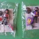 Lot of 2 Playmobil figures GOLD DRAGON + BLACK LION Leader NEW