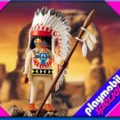 Playmobil 4589 Native American Indian Chief NEW retired