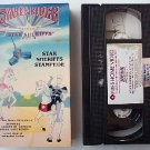 Saber Rider Star Sheriff's Stampede video vhs RARE