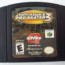 Nintendo 64 TONY HAWK PRO SKATER 3 game cartridge   N64