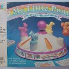 vintage 1985 My Little Pony Merry Go Round Game