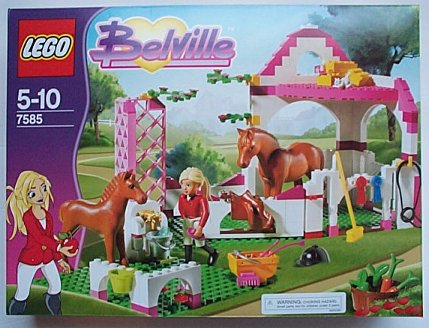 Lego Belville 7585 Horse Stable Pony Girl Pink New