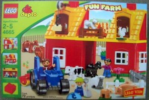 Lego duplo BIG FARM lego ville 4665 tractor horse NEW