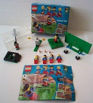 Lego 3416 Women's Soccer Team