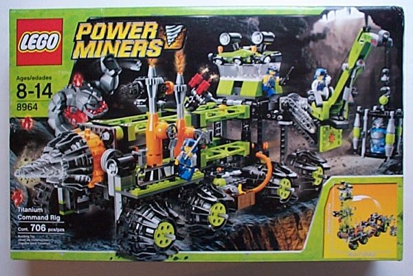 LEGO 8964 Power Miners Titanium Command Rig NEW