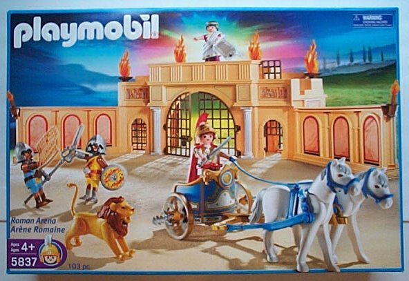 Playmobil 5837 Roman Arena  NEW