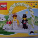 LEGO Bride and Groom minifigure Wedding Set NEW