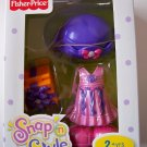 Snap n Style BIRTHDAY PARTY OUTFIT for doll Fisher Price NEW