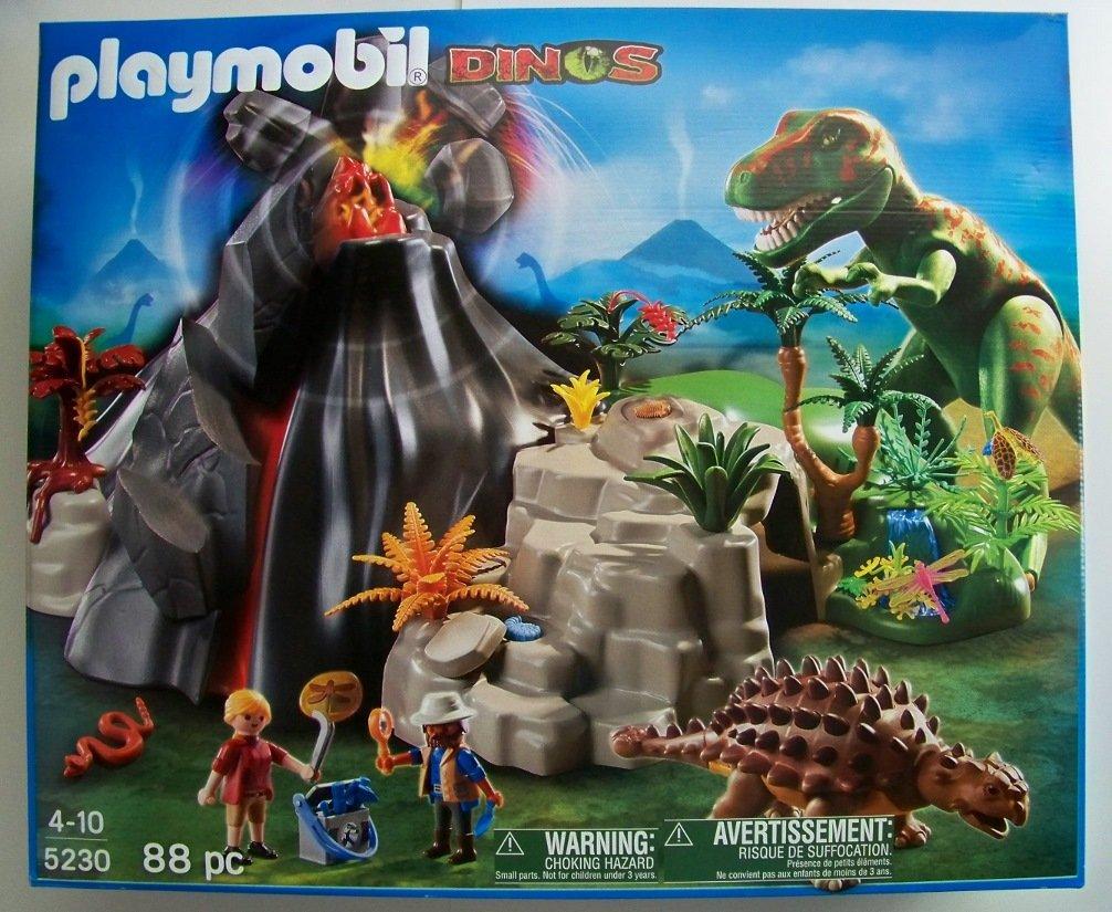 Playmobil dinosaur 5230 volcano with tyrannosaurus dinos - Dinosaur playmobile ...