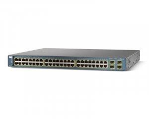 Cisco Catalyst WS-C3560-48PS-S PoE 48-Port Switch