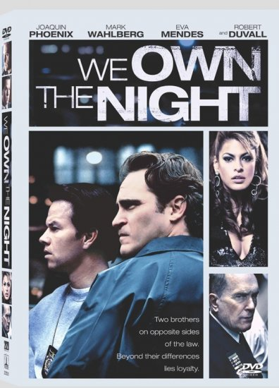 We Own the Night (2007) DVD Drama Starring Joaquin Phoenix, Mark Wahlberg, Eva Mendes