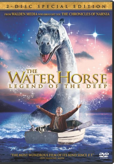 The Water Horse: Legend of the Deep (2007) DVD Family Starring Emily Watson Rated PG
