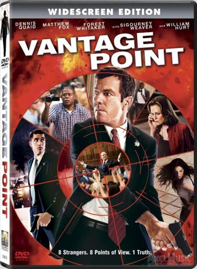 Vantage Point (2008) DVD DRAMA Starring Dennis Quaid, Forest Whitaker