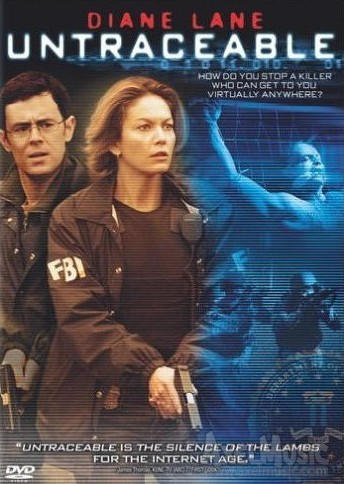 Untraceable (2008) DVD DRAMA Starring Diane Lane, Colin Hanks