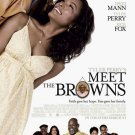 Tyler Perry's Meet the Browns (2008) DVD COMEDY Starring Tyler Perry, Angela Bassett