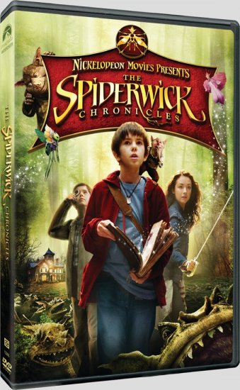 The Spiderwick Chronicles (2008) DVD FAMILY Starring Freddie Highmore, Mary-Louise Parker