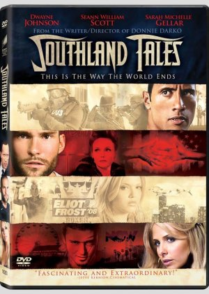 "Southland Tales (2006) DVD DRAMA Starring Dwayne ""The Rock"" Johnson, Justin Timberlake"