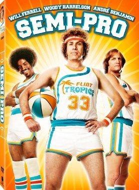 Semi-Pro (2008) DVD COMEDY Starring Will Farrell, Woody Harrelson, André Benjamin