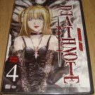 Deathnote  DVD    Volume 4 Original &  Uncut