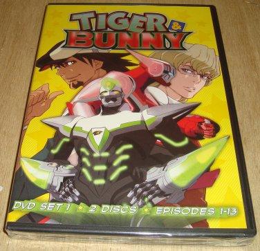 Tiger & Bunny DVD Set  1  Episodes 1-13